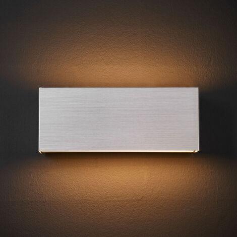 Lámpara de pared LED Kimberly, 23x9cm, aluminio