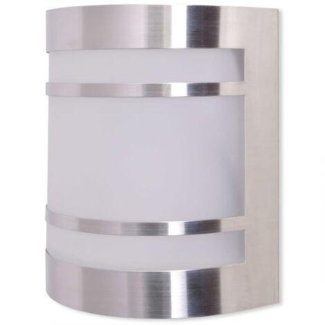 Lámpara de pared para exteriores acero inoxidable