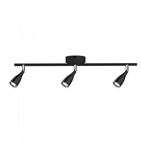 Lámpara de Pared Serie Modern Tripple 13.5W 100° IP20 Negro Temperatura de color - 4000K Blanco natural