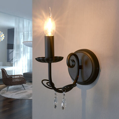 Lámpara de pared Sophina, estilo lámpara de araña