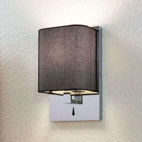 Lámpara de pared textil Eleanor