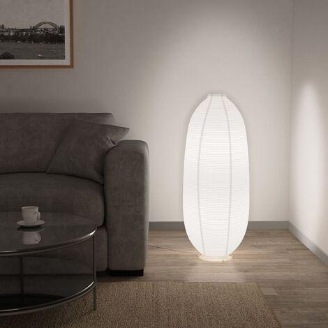 Lámpara de pie blanca E14