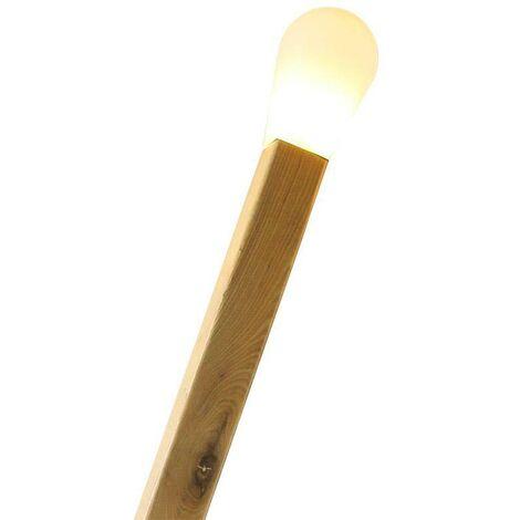 Lámpara de pie CERILLA Gigante, Blanco