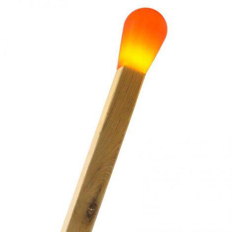 Lámpara de pie CERILLA Gigante, Rojo