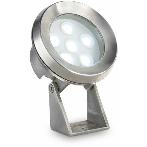 Lámpara de pie de acero KRYPTON 6 bombillas