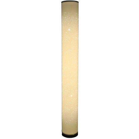 Lámpara de pie LED Ecris con efecto brillo