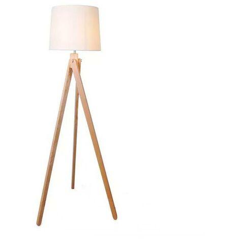 """Lámpara de pie """"NASHUA"""" madera"""
