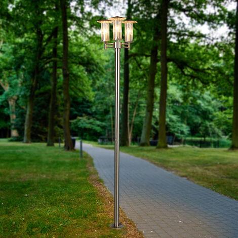 Lámpara de poste de luz moderna Filko, de 3 focos
