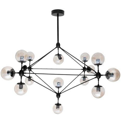 Lámpara de techo Moderna Ingo Negra