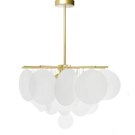 Lámpara de Salón Dorada Greta