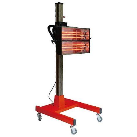 Lámpara de secado por infrarrojos dos paneles