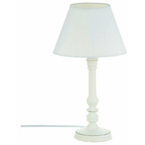 """main image of """"Lámpara de sobremesa de madera"""""""