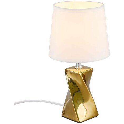 Lámpara de sobremesa lámpara de salón de cerámica CONTROL REMOTO en un juego que incluye lámparas LED RGB