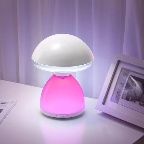 Lámpara de sobremesa LED RGB Seta (4.5W)