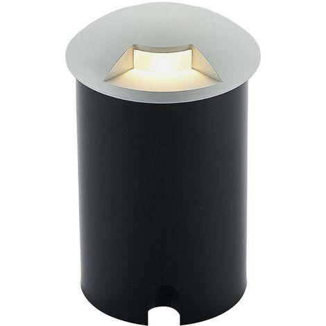 Lámpara de suelo empotrada de aluminio Bartosz
