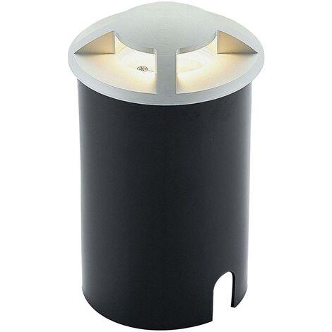 Lámpara de suelo empotrada de aluminio Edwina