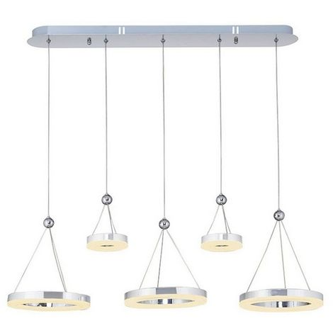 Lampara de Suspension Galya Colgante - de Techo - en Metal, 81 x 81 x 90 cm, 1 x LED, 48W, 5040LM, 4200K Luz Blanca