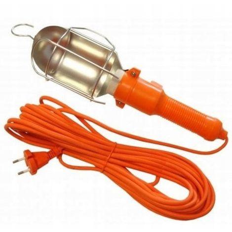 Lámpara de taller con cable halógeno de 5 m para g