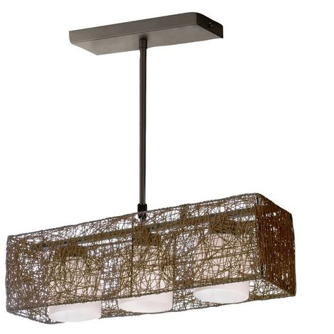 Lámpara de techo Alexandra wengue CRISTALRECORD 99-263-15-115