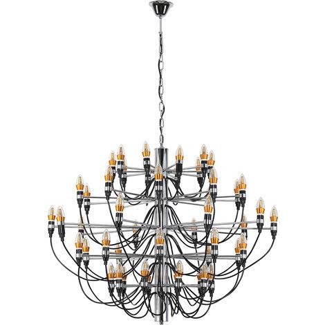 Lámpara de techo Araña 2097 Gino Sarfatti Style - Modelo Pequeño