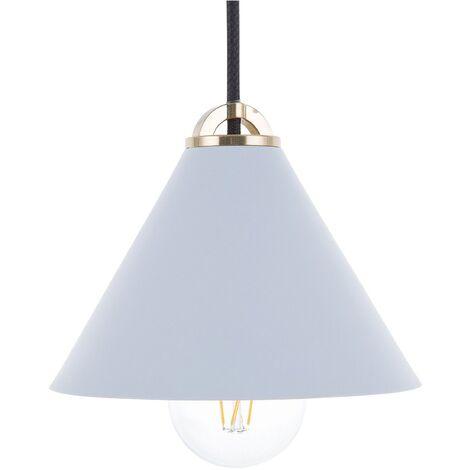 Lámpara de techo azul claro ARAGON