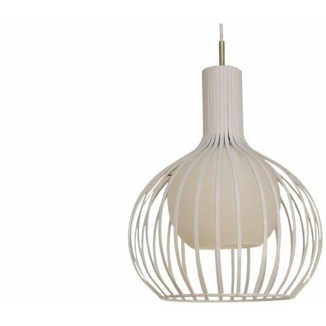 Lámpara de techo Blanca Carol Blanco | IluminaShop