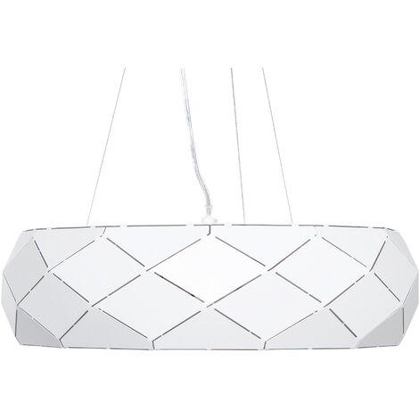 Lámpara de techo blanca CESANO