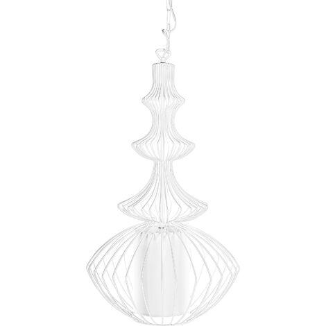 Lámpara de techo blanca KOLVA
