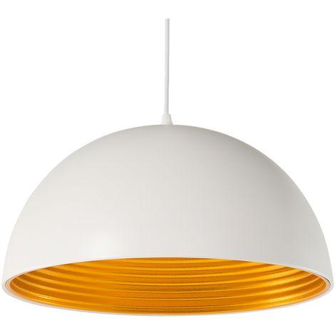 Lámpara de techo blanca mate GRAND