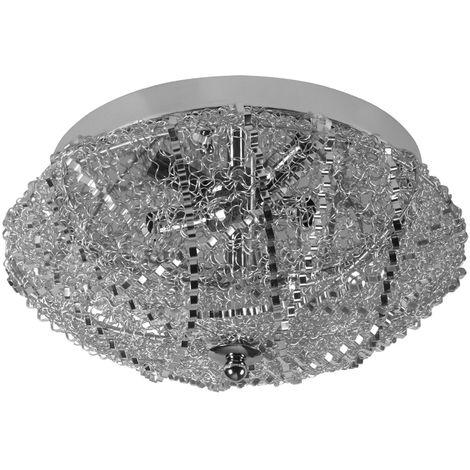 Lámpara de techo brillante, elegante, diseño individual - 37 x 17cm - 3 x G9 - Lámpara de plafón - Luz efectivo - Iluminación interior