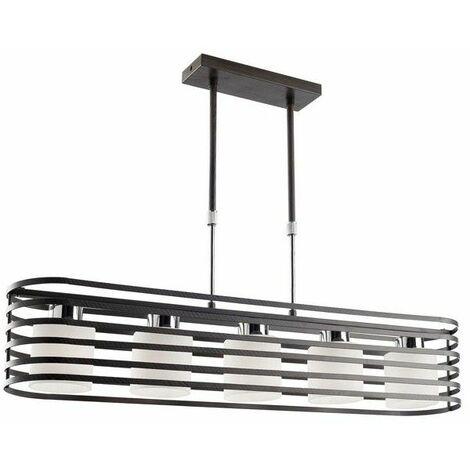 Lámpara de techo Cell 2 wengué CRISTALRECORD 99-115-05-115