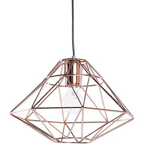Lámpara de techo cobriza GUAM