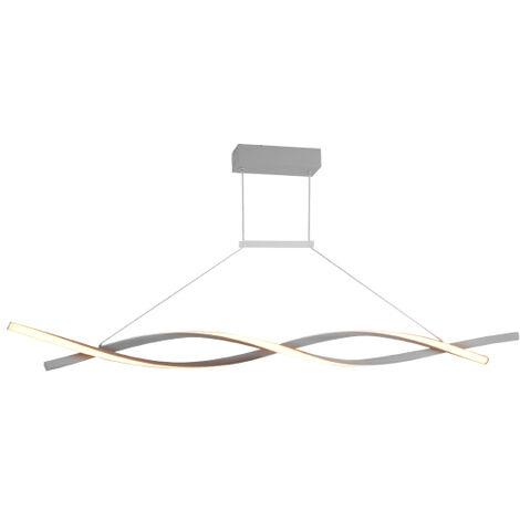 Lámpara de Techo Colgante LED Strip Metal 22W 1760LM 3000+4000+6000   IluminaShop