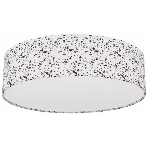 Lámpara de techo comedor cocina mosaico lámpara óptica MANDO A DISTANCIA en un conjunto con iluminación LED RGB