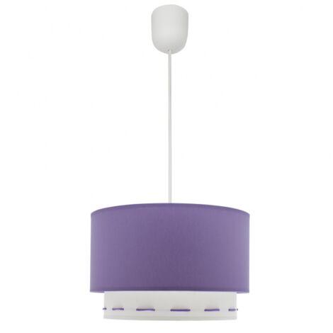 Lámpara de techo con doble pantalla Trazos