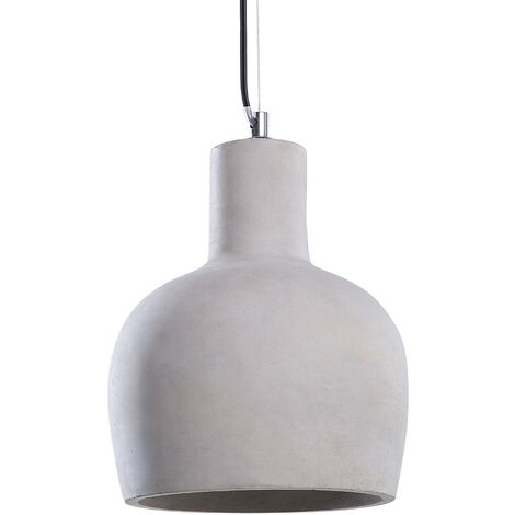 Lámpara de techo concreto gris INNOKO