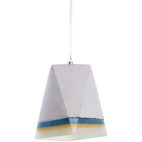 Lámpara de techo concreto gris MABEL