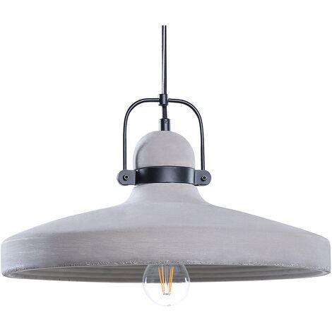 Lámpara de techo concreto gris NOATAK
