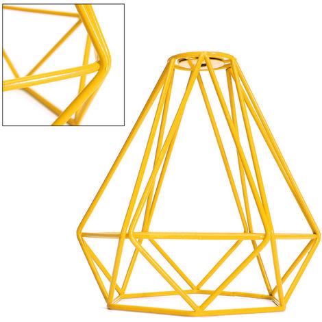 Lámpara de techo de alambre de marco de metal industrial moderno Pantalla de protección de luz de jaula de sombra NF LAVENTE