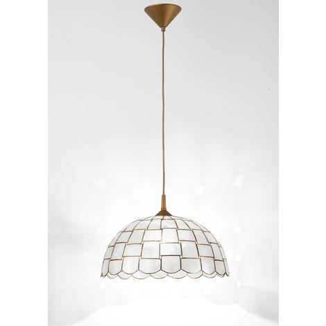 Lámpara de techo de nácar natural PERENZ H5470