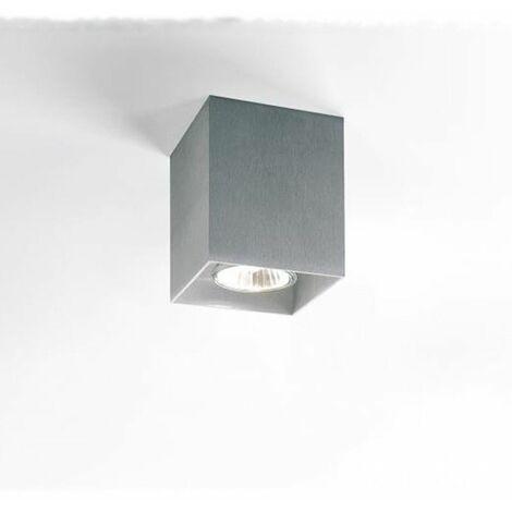 Lámpara de techo Delta Light BOXY 50W GU10 Gris aluminio 2516720ALU
