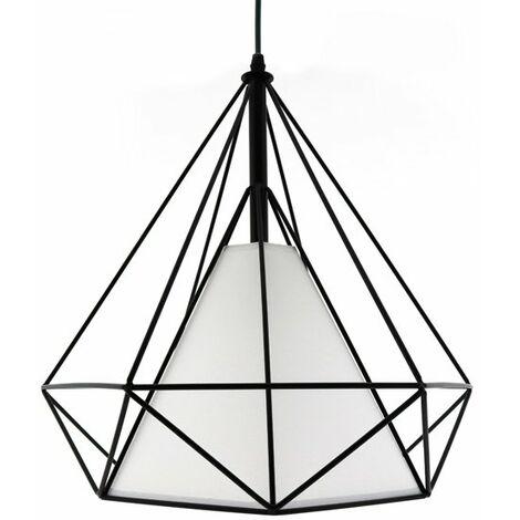 Lámpara de techo Dimen Black Negro | IluminaShop