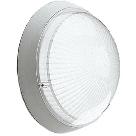 Lámpara de techo Disano GLOBO 100W E27 IP65 Gris 42724600
