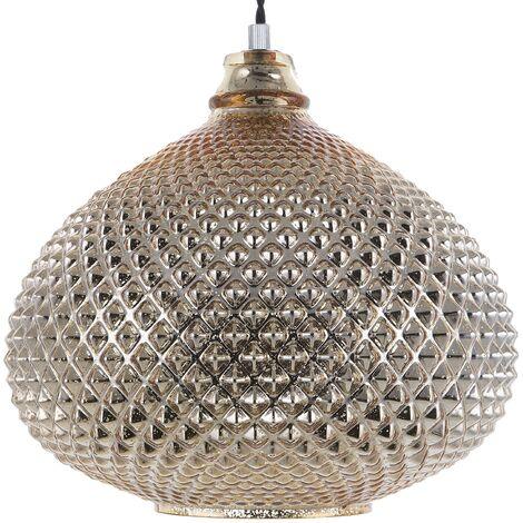 Lámpara de techo dorada MADON