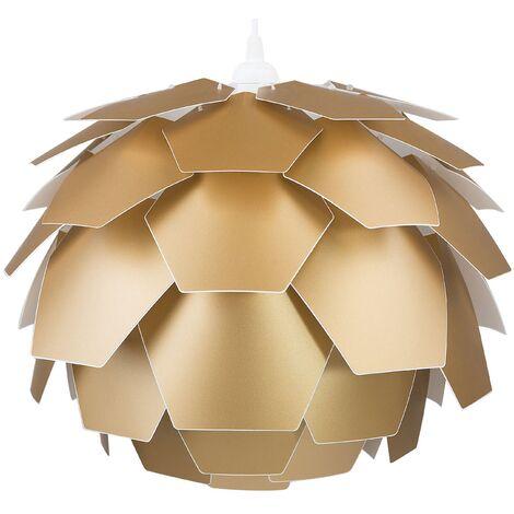Lámpara de techo dorada pequeña SEGRE