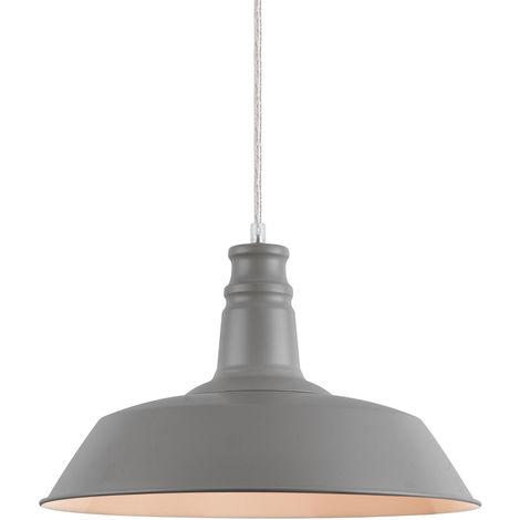 Lámpara de techo estilo vintage con diseño moderno - (gris)