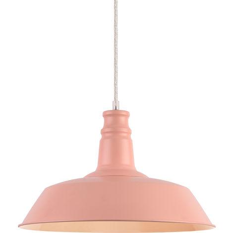 Lámpara de techo estilo vintage con diseño moderno - (rosado)