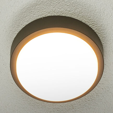 Lámpara de techo exterior LED redonda Maxine