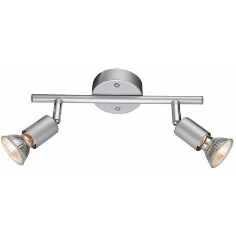 Lámpara de techo, foco, tira de luz, pasillo, cocina, iluminación, ajustable Globo 57339-2MX