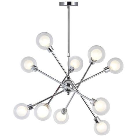 Lámpara de techo Globo (10 luces)